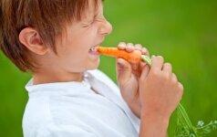 Vaikų ir daržovių karas: kas laimės?