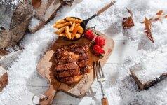 Smagi žiemos pramoga - grilis: patarimai, kaip skaniai iškepti mėsą