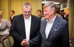 Kęstutis Daukšys ir Artūras Paulauskas
