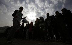 Pabėgėlių klausimas Lietuvai tampa vis sunkesnis