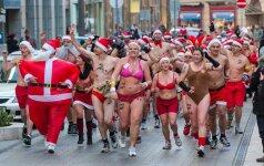 Kalėdos su girliandomis - nebrendylų reikalas
