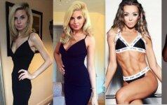 Šios moterys džiaugiasi kiekvienu priaugtu kilogramu FOTO