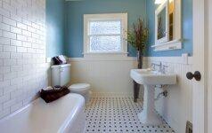 Dizainerės patarimai, kaip patiems suplanuoti vonios kambarį