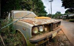 Dalis įvežamų naudotų automobilių - tiesiog pavojingos atliekos