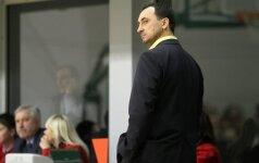 """Prieš LKF taurės finalo ketverto startą """"Hoptrans-Sirenų"""" trenerių štabą papildė R. Maceina"""
