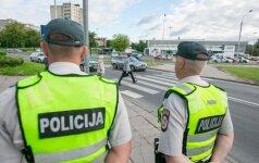 Policija pristatys praėjusių metų rezultatus