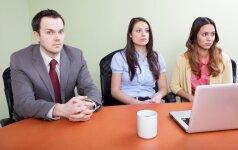 Kaip pranešti blogą žinią darbuotojams