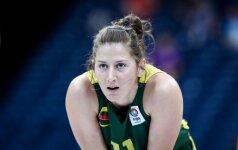 Lietuvos krepšininkės buvo pastebimos Europos aikštėse