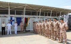 Lietuvos kariai baigė savo budėjimą prie Somalio krantų