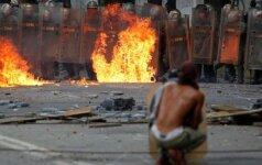 Streikas Venesueloje