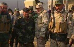 """Kovoje dėl Mosulo """"Tigro liūtų"""" gretose kaunasi ir moteris"""