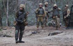 Rytų Ukrainoje vėl suintensyvėjus mūšiams žuvo šeši ukrainiečių kariai