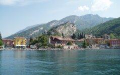 Kelionė laivu po nuostabų Gardos ežerą