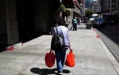 Prašymų gauti bedarbio pašalpą JAV mažėja