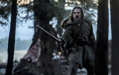 Leonardo DiCapio in The Revenant