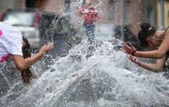 Orai: po vėsesnės savaitės pradžios vėl užguls karščiai