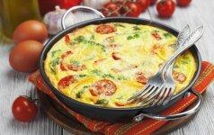 Kiaušinienė kitaip: 4 gardūs receptai