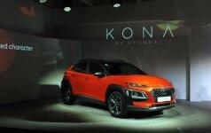 Hyundai Kona pristatymas