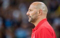 Netekties sukrėsti serbai tebeturi aukščiausią žaidėją, griežčiausią trenerį ir auksinių ambicijų