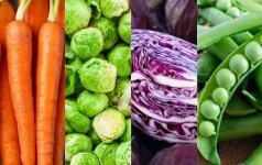 10 superdaržovių: sveikos visos, tačiau šios – ypatingos