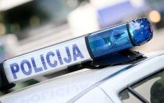 Vilniuje ukrainiečio sukeltoje avarijoje sužalotas kriminalistų viršininkas