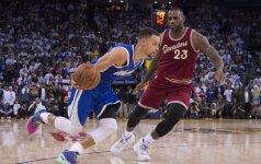 NBA paskelbė geriausių žaidėjų penketukus