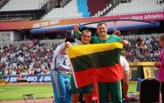 Pasaulio neįgaliųjų čempionatas: Mindaugas Bilius ir Donatas Dundzys