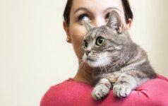 Ar katės iš tiesų myli savo šeimininkus?