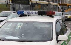 Vilniuje susidūrė du automobiliai, vaikui prireikė medikų