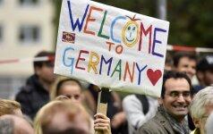Nuo metų pradžios Vokietijoje pastebimai padaugėjo išpuolių prieš pabėgėlius