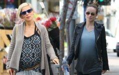 Nėščiųjų stiliaus dvikova: ką dėvėti laisvalaikiui? FOTO