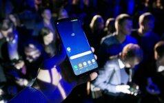 """""""Samsung"""" pristatė pagrindinį """"iPhone"""" konkurentą"""
