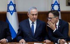 Izraelio ministras pirmininkas Benjamin NetanyahuI