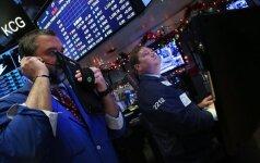 Europos akcijų rinkose investuotojai vertino pavienių bendrovių naujienas