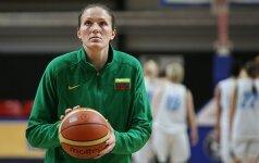 Iš užsienyje rungtyniaujančių Lietuvos krepšininkių geriausiai sekėsi I.Šalkauskei