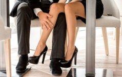 Psichologas paaiškino, kodėl vyrams kyla noras flirtuoti darbe