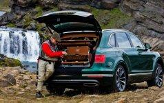 Žvejo svajonių automobilis Bentley Bentayga