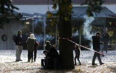 Vokiečių statistika: po dešimt išpuolių prieš pabėgėlius kasdien