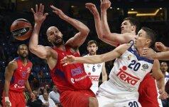 Europos milžinų dvikovoje dėl bronzos – lengva Maskvos CSKA pergalė