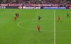 """""""Bayern"""" jaučiasi apgautas: """"Atletico"""" įvartis – iš nuošalės, 11 m baudinys – neteisingas"""