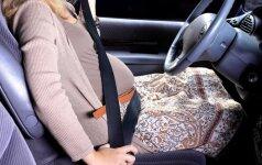Mano gimdymo istorija: vos nepagimdžiau automobilyje