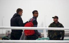 Į Turkiją grąžinami migrantai