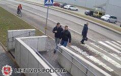 Panevėžio policija prašo atpažinti spjaudalių