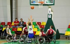 Lietuviai Europos krepšinio vežimėliuose čempionatą pradėjo dviem pralaimėjimais
