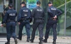 Vokietijos pareigūnai neatmeta teroro aktų naudojant cheminį ginklą galimybės