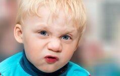 Kai mušasi kūdikis, nepulkite kaltinti blogo auklėjimo – priežastis kita