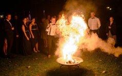 Plinta naujas vestuvių ritualas, atėjęs dar iš pagonių laikų