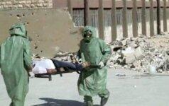 Kraupios JT išvados: Sirijos režimas surengė dvi chemines atakas