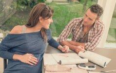 Į nėštumo kursus atėję vyrai neretai nustemba