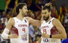 Ispanijos rinktinės kandidatų sąraše – įspūdingas žaidėjų arsenalas